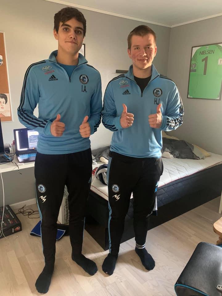 Ingolf og Hans Jákup, Víkingur